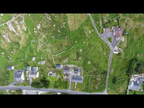 Lettermullen looking down at Mamo's land