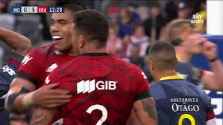 SKY SUPER RUGBY AOTEAROA ROUND 1: Highlanders vs Crusaders