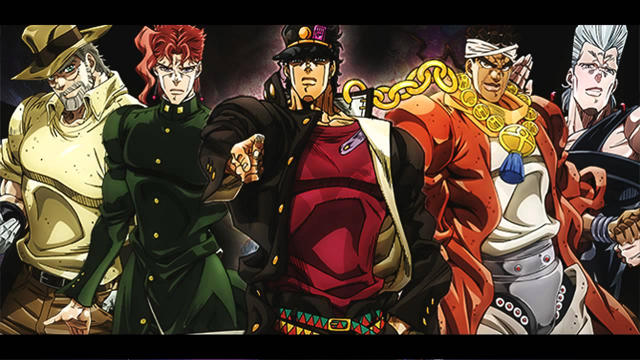 Image result for stardust crusaders