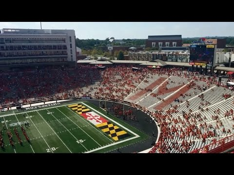 Game-day Tour Of Byrd Stadium (Maryland Terrapins - NCAA Big Ten Football) In College Park, MD