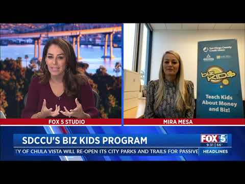 FOX 5 San Diego Features SDCCU Biz Kid$ Program from YouTube · Duration:  5 minutes 4 seconds
