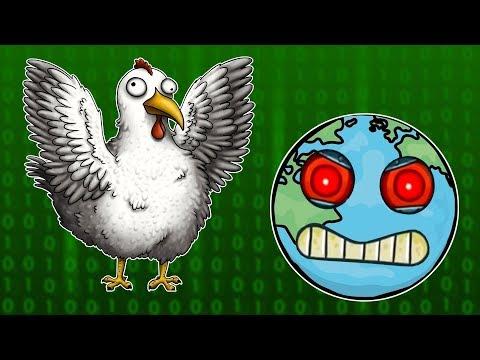 КУРИЦА съела Землю будущего. ИГРА Tasty Planet Forever #7 на Игрули TV