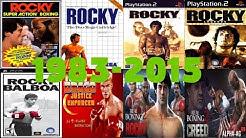 Rocky Balboa Games Evolution (1983-2015)