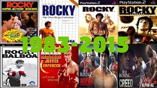 Rocky Balboa Games Evolution (1983-2015)
