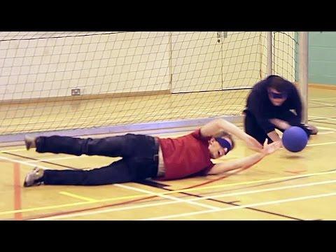 Goalball: Blindfold Paralympic Reverse Dodgeball