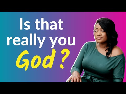 How do you know it's God is speaking to you
