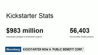 Why Kickstarter Became a 'Public Benefit Corporation'