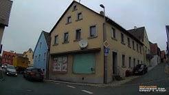 D: Stadt Hollfeld. Landkreis Bayreuth. Rundfahrt durch die Stadtmitte. November 2018