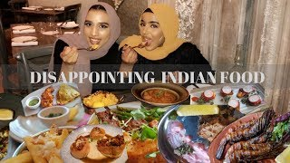 DISSAPOINTING INDIAN FOOD  | LOKHANDWALA| DINNER DIARIES EP 8| Ramadan Vlog 2018