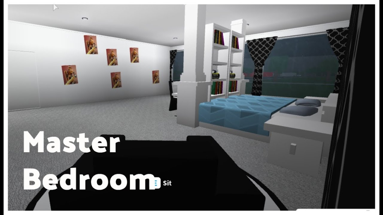Roblox Welcome To Bloxburg Master Bedroom Youtube