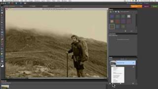 Photoshop Elements Tutorials- Sepia Tone