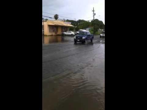 Virgin island under water