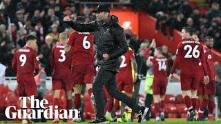 'We were perfect': Jürgen Klopp celebrates Liverpool's victory over Manchester United