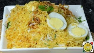 Street Food Egg Biryani Fried Rice - By VahChef @ VahRehVah.com