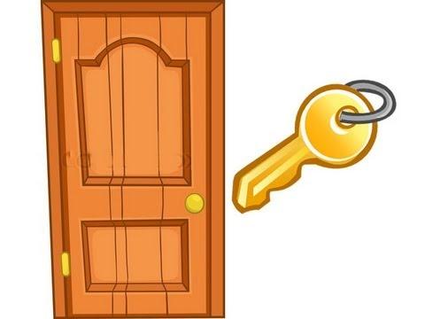 Como poner una llave que abra puerta para pasar de nivel - Llaves antiguas de puertas ...