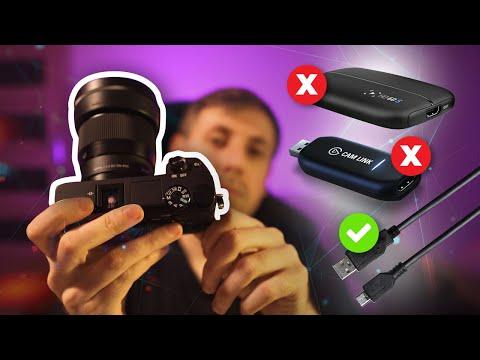 Aparat Sony jako Kamera Internetowa USB do streamowania || BEZ UŻYCIA KARTY przechwytującej!