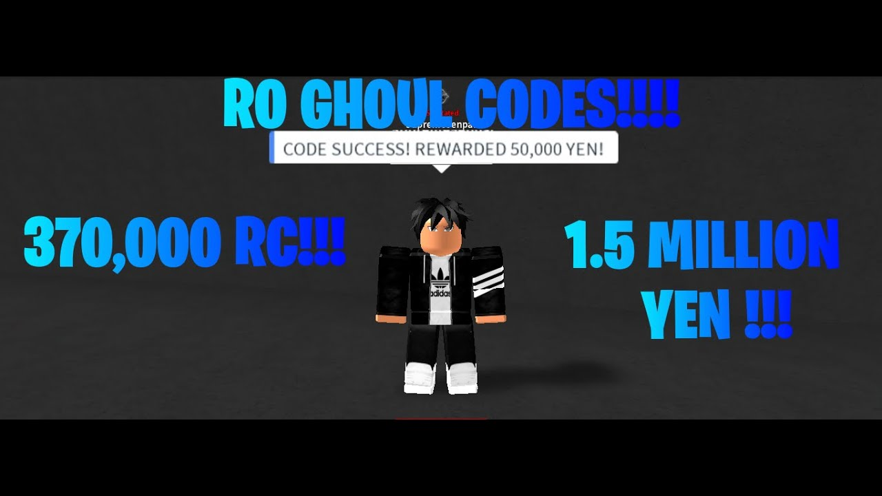 Ro Ghoul Codes March | RO GHOUL CODES 370,000 RC & 1,500,000 YEN !!!