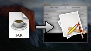 Bundling A jar File Into A Mac OS X Executable Application File
