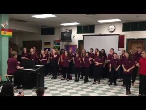 """La Bamba"" and ""Tacobel Canon"" -  Swanson Middle School Chorus"