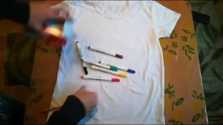 Видео обзор. Маркеры для текстиля