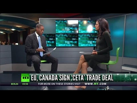 Canada and EU sign CETA Trade Deal