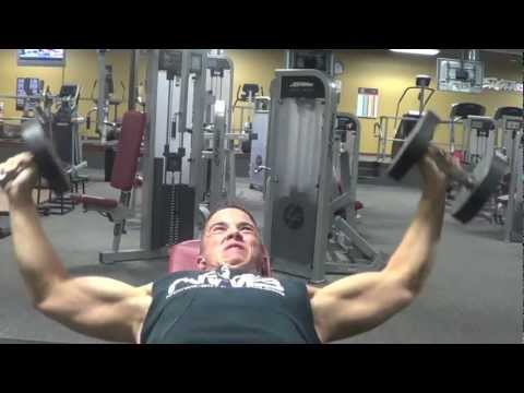 Nick Wright Chest Workout - NWB STRONG - 2012