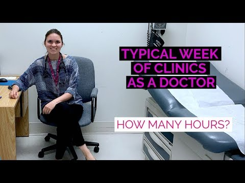 WEEK AS A DOCTOR IN CLINIC: How Many Hours? (Medical Residen