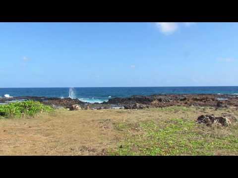 hanapepe, kauai wave action
