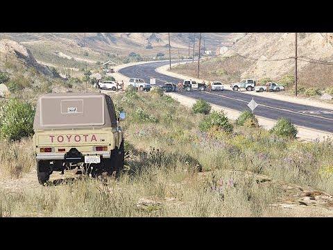 مطاردة أخطر تاجر حشيش بعد اشتباك عنيف || الشاص المسروقه الجزء الخامس || قراند 5 - GTA V