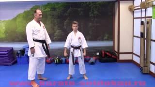 Как правильно наносить прямой удар разноимённой рукой - Гьяку Дзуки(Из этого ролика Вы узнаете, как правильно наносить прямой удар разноимённой рукой, Гьяку Дзуки., 2015-12-06T07:22:02.000Z)