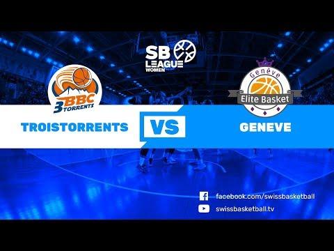 SB League Women - Day 9: Troistorrents vs. Genève