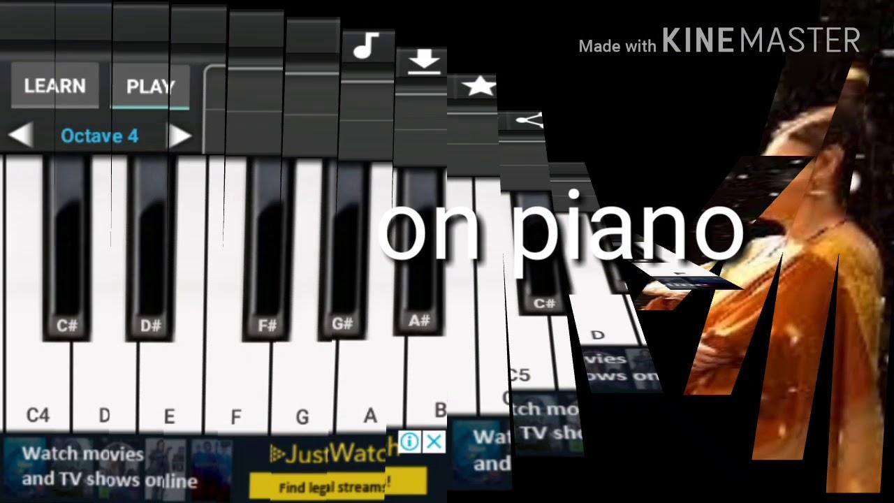 Mai teri chunariya (abcd 2) mai teri chunariya on piano   superb