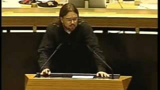 10.11.2011 - Abgeordnetenhaus Berlin - Überwachungssoftware an Schulen - Alex Morlang (Piraten)