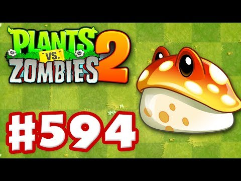 Plants vs. Zombies 2 - Gameplay Walkthrough Part 594 - Toadstool Premium Seeds Epic Quest!