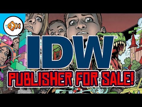 IDW PUBLISHING FOR SALE?! Comic Book Industry Continues to Collapse!