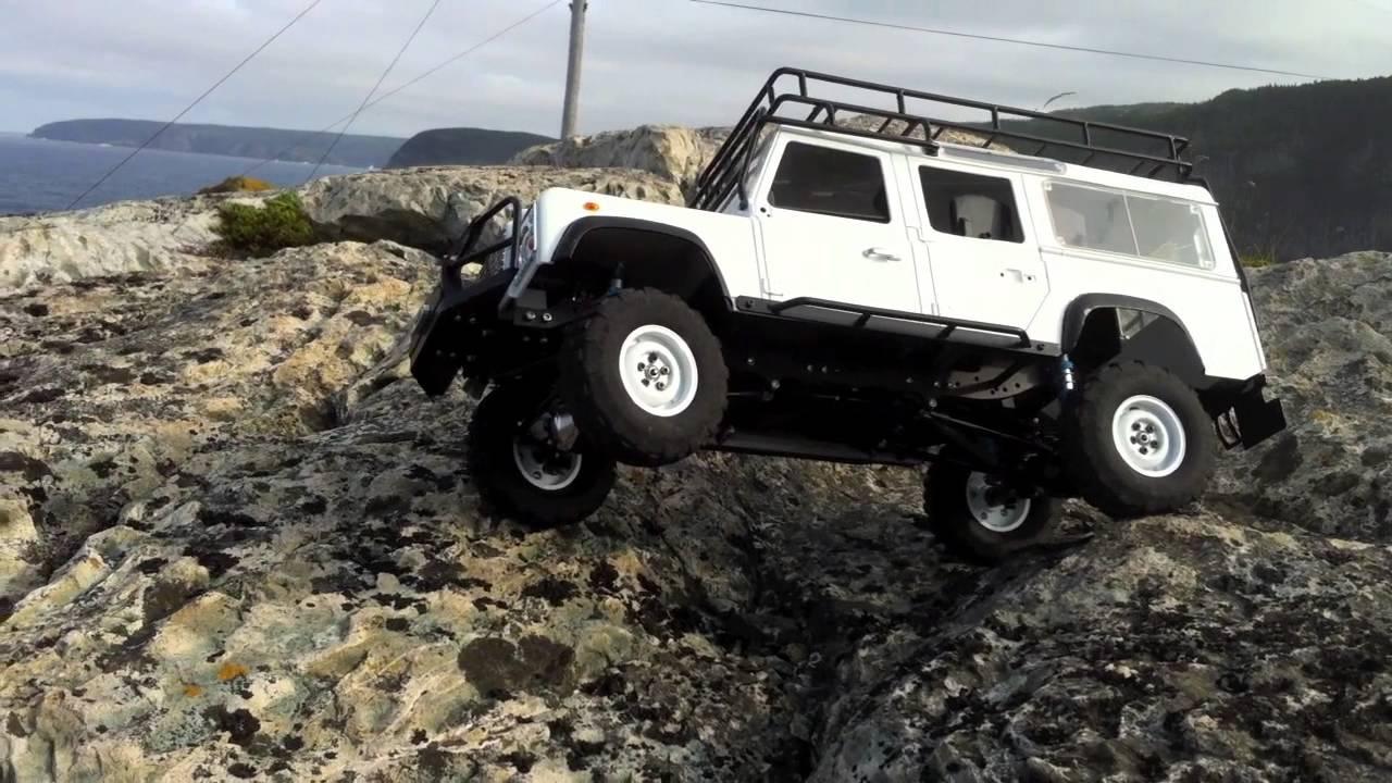 Rc4wd Gelande Land Rover Defender D110 R C 4x4 Truck 1 10