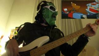 Brave little toaster - It's a B-movie bass cover