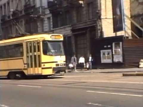 BRUSSELS TRAMS APRIL 1990