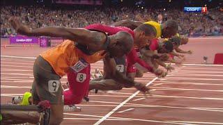 олимпиада 2016 легкая атлетика 100м Ragdoll Runners