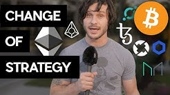 Huge Changes To My Crypto Investing Strategy! What!?