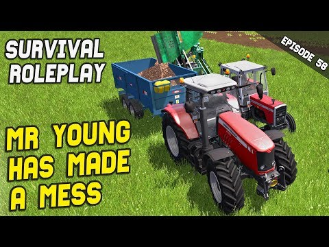 I HAD TO CLEAN UP MR YOUNG'S MESS | Survival Roleplay | Episode 58 thumbnail