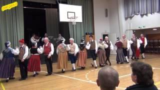 Folk dance - Lappfjärds menuett med polska i Borgå, Finland  26.01.2013