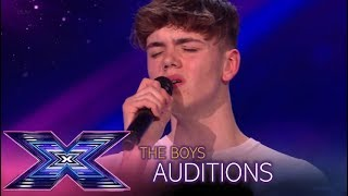 "Fred Roberts: He Sings ""Lose You To Love Me"" BUT Simon STOPS Him!