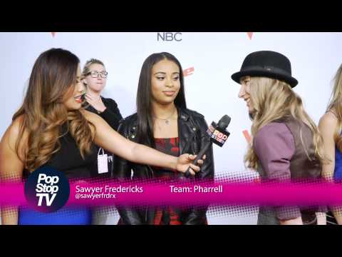 "Sawyer Fredericks & Koryn Hawthorne Talks Team Pharrell ""The Voice"""