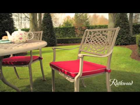 Lyon 12 Mushroom 4 Seater Garden furniture