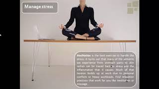 Top 4 Tips For Office Workers   Health and Fitness