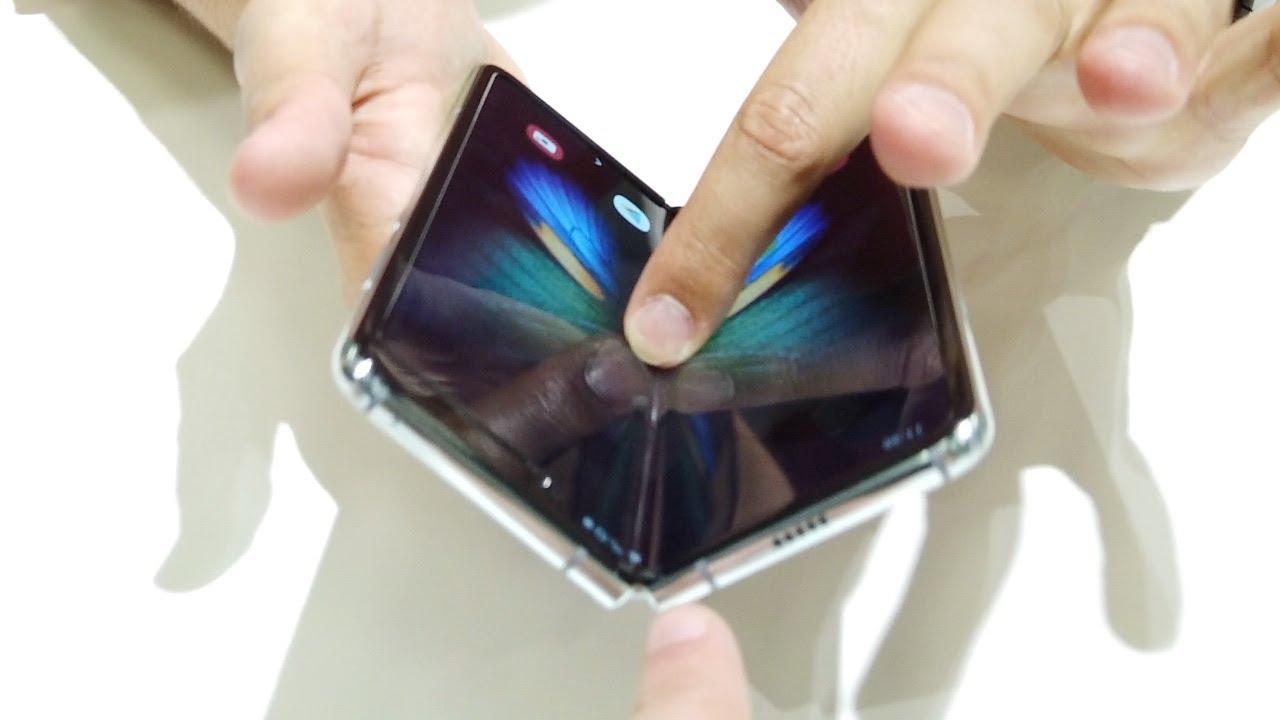 Entspannte Samsung Galaxy Fold Eindrücke mit Felixba und