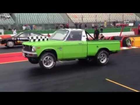 1979 Chevy LUV truck running V8 Alfa Romeo at the Hockenheimring August 2013 - YouTube