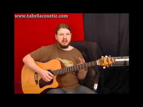 Cours de guitare : Les accords barrés pour les débutants - Partie 3