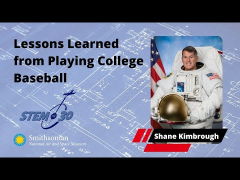 The Life Lessons this Astronaut Learned from Playing College Baseball - My Path